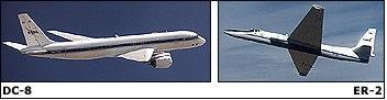 DC-8 ER-2 CAMEX
