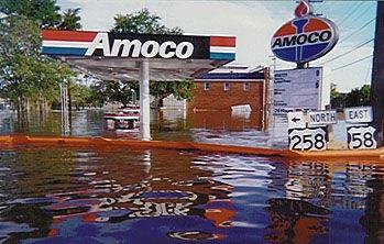 Hurricane Floyd floodwaters