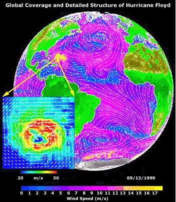SeaWinds Hurricane Floyd