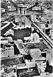 Paris aerial photo 1867