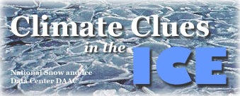 Climate Clues in the Ice title