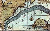 Benjamin Franklin Gulf Stream map