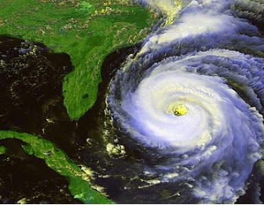 Hurricane Fran GOES