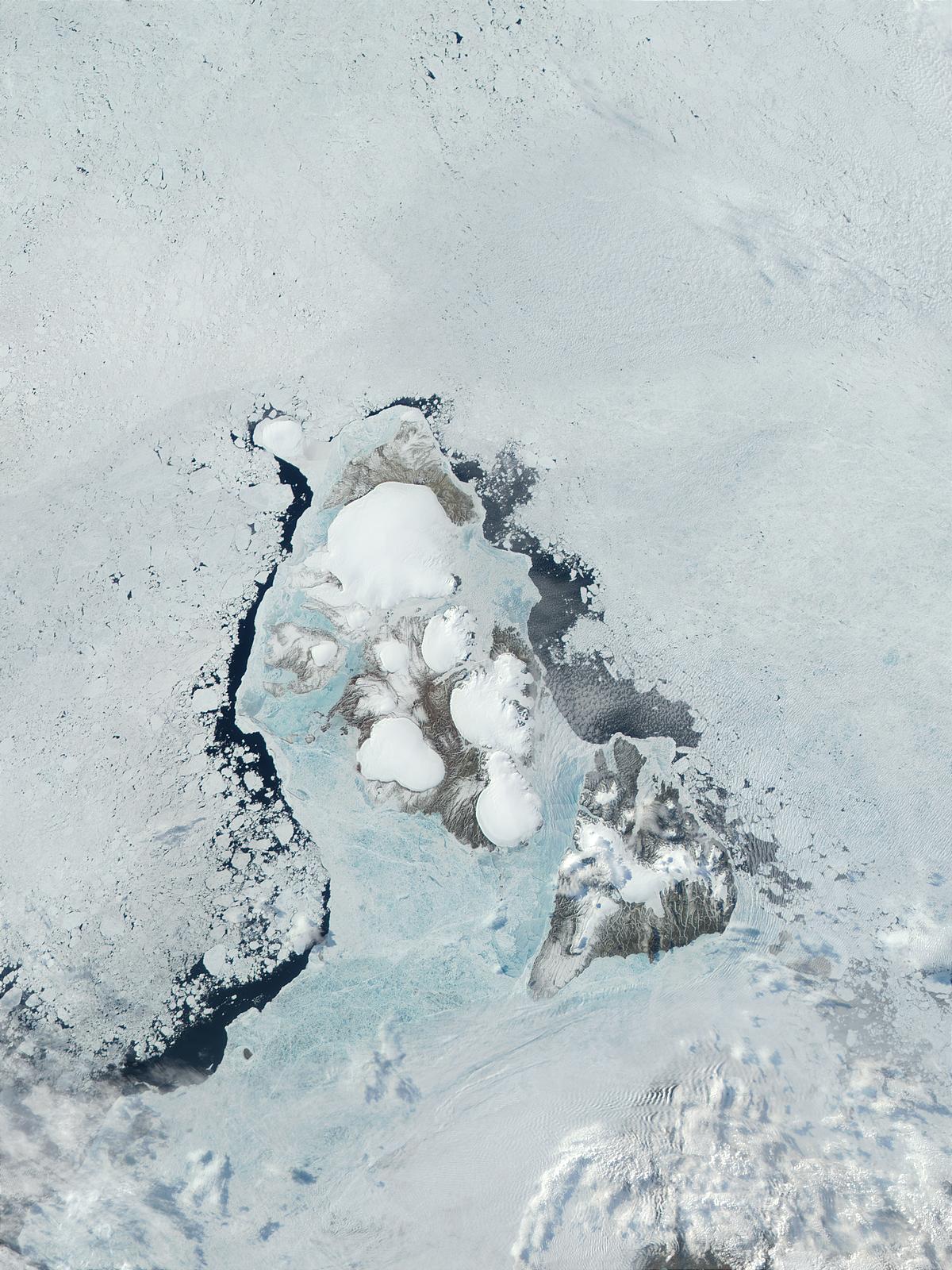 Terra/MODIS image of Severnaya Zemlya