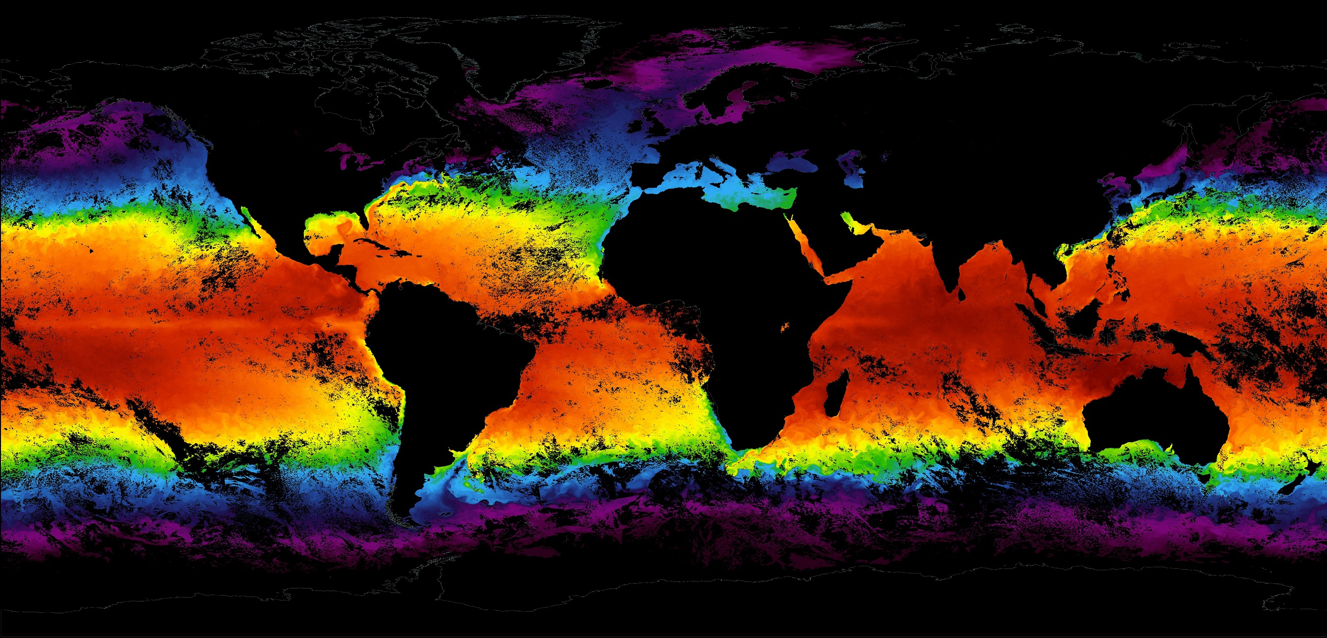 SIPS ODPS MODIS sea surface temperature