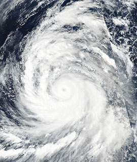 Typhoon Kong-Rey on 1 October 2018 (Suomi-NPP/VIIRS)