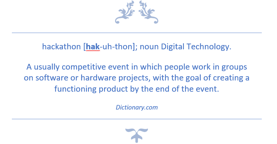 hackathon definition