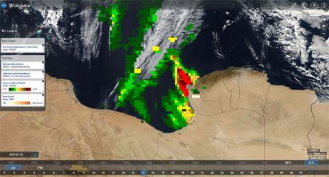 DustStorm Libya